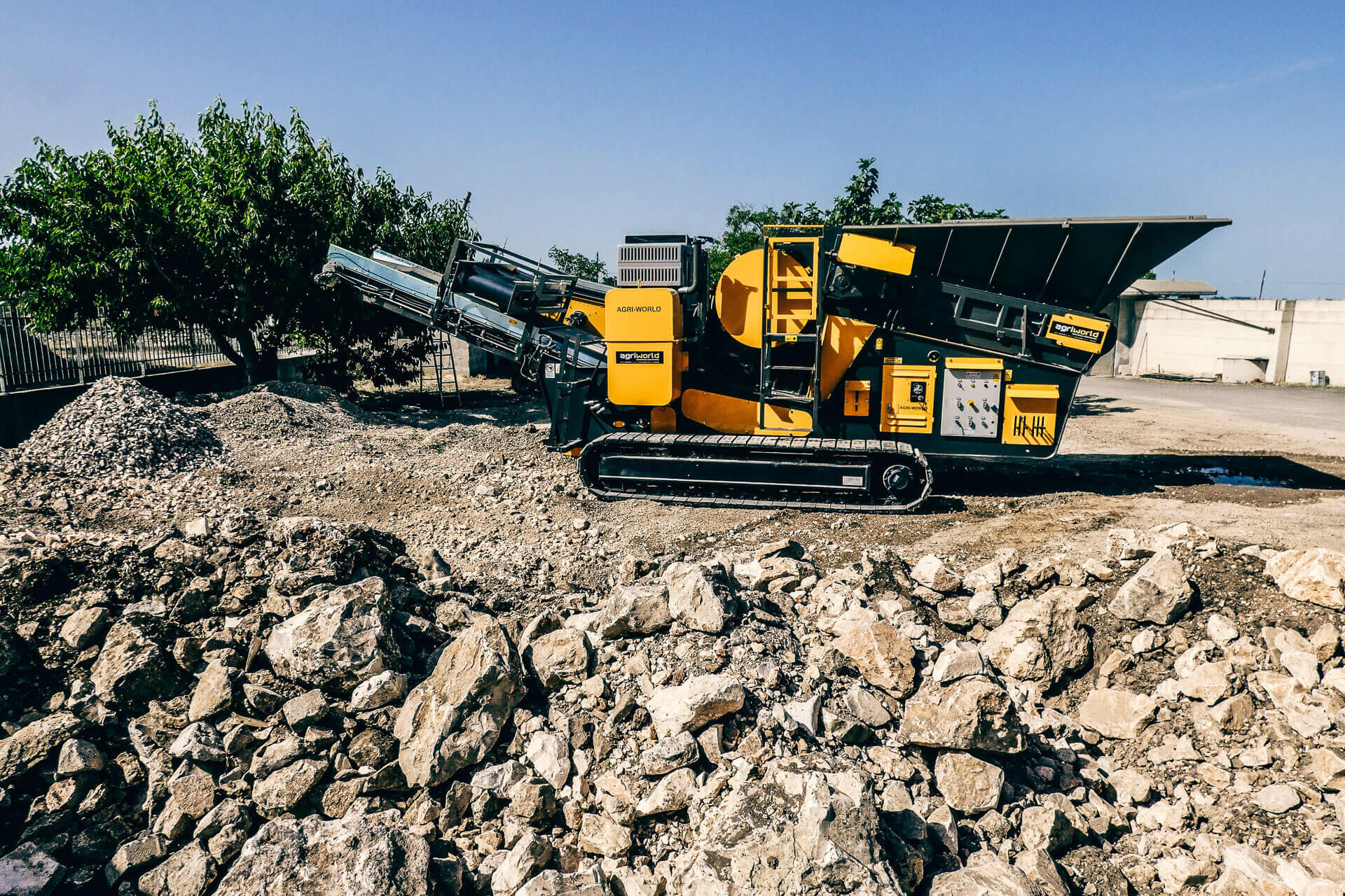agri world-jaws crusher-frantoio a mascelle-italy