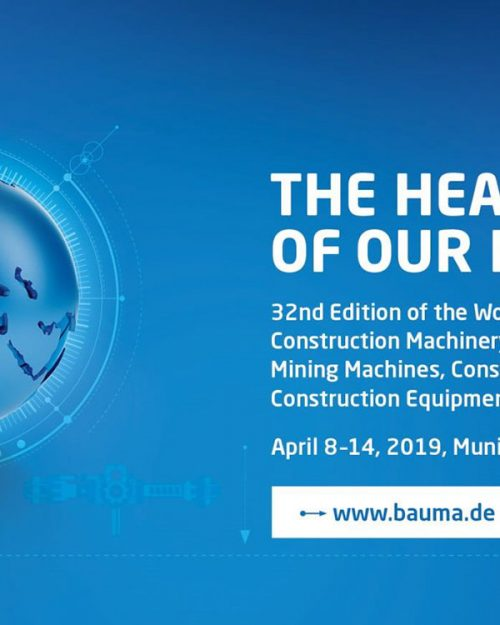 bauma 2019 munich 8 14 april